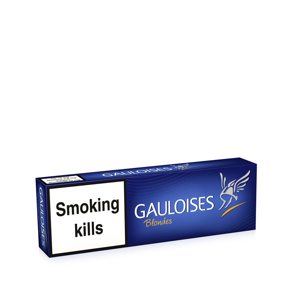 Tobacco Gauloises Blondes Blue 200