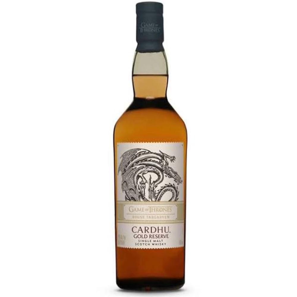 Cardhu Gold Reserve / Game Of Thrones House Targaryen Speyside Whisky