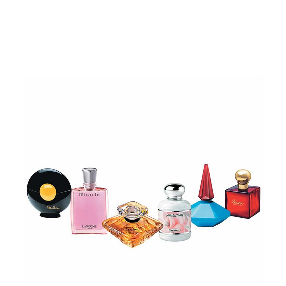 Collection Of Six Miniature Perfumes Aelia Duty Free
